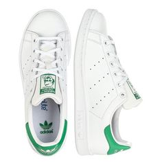 adidas Originals STAN SMITH J M20605 – Sneakers – Hvid ❤ liked on Polyvore featuring shoes, sneakers, adidas originals, adidas originals trainers, adidas originals sneakers and adidas originals shoes