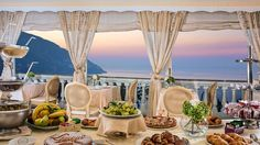 Restaurant & Bar   Hotel Conca d'Oro Positano