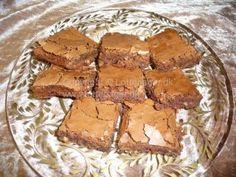 Brownies med kæmpeskildpadder | Bageopskrifter, kageopskrifter og opskrifter på tærte m.m.