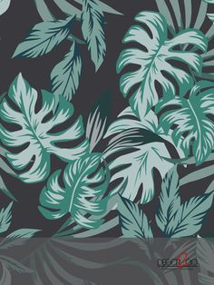 Our Big Green Leaves custom mural is ideal to be placed in any room of your house to add a fresh, natural style. Green Leaves, Plant Leaves, Amazing Greens, Fresh Green, Palms, Murals, Design Trends, Tropical, Quote