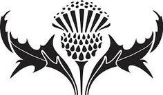 celtic thistle stencils - Google Search