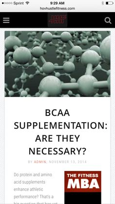 BCAA Supplementation: Are They Necessary? - Branched Chain Amino Acids -  ➡️http://www.hovhustlefitness.com/health/bcaa-supplementation-are-they-necessary/⬅️ #health #fitness #weightloss #nutrition #diet #wellness #supplements #workout #exercise