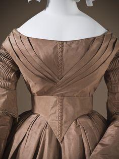 Woman's Dress, circa 1845. LACMA Collections