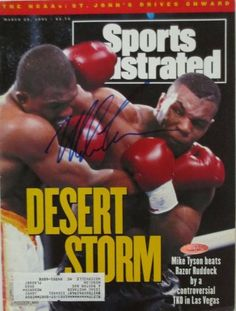 Featured is a signed Mike Tyson boxing Sports Illustrated magazine from March 1991. This magazine was hand-signed by Tyson and comes with a Tri-Star hologram (7086093) and matching certificate of auth