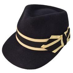 Trilby Hut im Militärstil Kepi Bleumarin Hat Stores, Bleu Marine, Outfits, Fashion, Soldiers, Women's, Moda, Suits