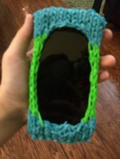 Rainbow loom iphone case!