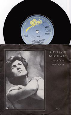 "GEORGE Michael  Careless Whisper 1984 UK Issue 7"" 45 rpm Vinyl Single record pop dance 80s music Wham A4603 *SALE 45s*"