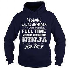 REGIONAL SALES MANAGER - MULTITASKING NINJA JOB TITLE