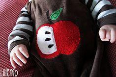 lillemo apfel  applikation apple äpfelchen