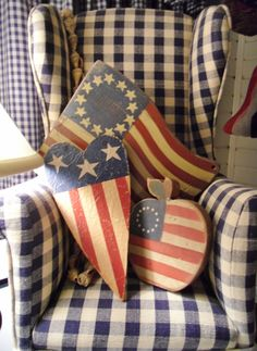 """Inspired flags. I wish my husband would allow me to decorate the """"Man Cave"""" with fabric like this."""