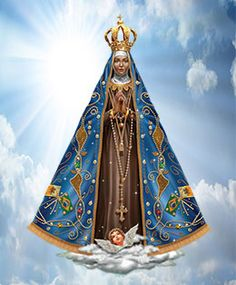 Padre Marcelo Rossi Blessed Mother Mary, Blessed Virgin Mary, Catholic Art, Religious Art, Christian Ronaldo, Virgin Mary Art, Holy Art, Arte Quilling, I Love You Mother