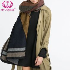 Find More Scarves Information about MYCOURSE Thick Diamond Pattern Winter Warm False Cashmere Oversized Double Sided Dual Women Scarf Blanket Shawl Foulard Scarves,High Quality scarf for muslim women,China scarf winter Suppliers, Cheap scarf factory from MYCOURSE on Aliexpress.com