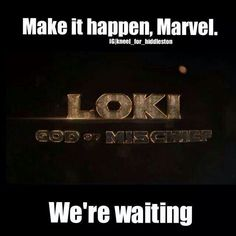 We're always waiting, ALWAYS.