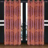 Found it at Wayfair - Dolce Mela Areon Cotton Grommet Drape Curtain Single Panel