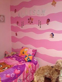 Bubble guppies bedroom idea