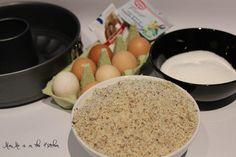 Zutaten für den Nusskuchen