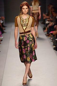 Miu Miu Spring 2004 Ready-to-Wear Fashion Show - Miuccia Prada, Liliane Ferrarezi