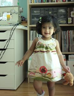 Prudent Baby Snappy Toddler dress by Deepika