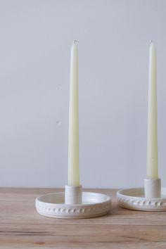Candlestick Holders, Candlesticks, Kitchen Elevation, Pottery Studio, Art Object, Ceramic Art, Ceramics, Handmade, Home Decor