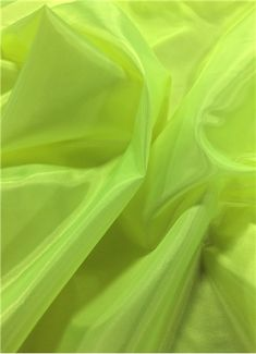 Neon Yellow Poly China Silk Lining Fabric Neon Yellow China Silk Lining Fabric - Bridal Fabric by the Yard Neon Wallpaper, Iphone Wallpaper, Aesthetic Colors, Aesthetic Yellow, Aesthetic Dark, Aesthetic Pastel, Aesthetic Collage, Aesthetic Grunge, Neon Yellow