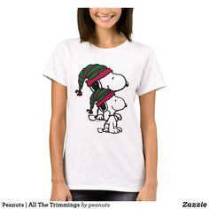 Customizable T-Shirt made by Zazzle Apparel. Cartoon T Shirts, Peanuts, Wardrobe Staples, Colorful Shirts, Fitness Models, Female, Casual, Fabric, Sleeves