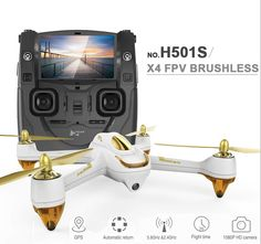 246.98$  Buy now - http://aliu42.worldwells.pw/go.php?t=32677298867 - Original Hubsan H501S X4 5.8G FPV RC Drone With 1080P HD Camera Quadcopter with GPS Follow Me CF Mode Automatic Return F17999/0 246.98$