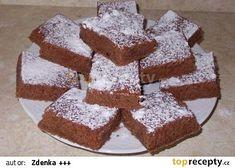 Cuketová buchta :-))) recept - TopRecepty.cz Krispie Treats, Rice Krispies, Zucchini, Baking, Food, Bakken, Essen, Meals, Rice Krispie Treats