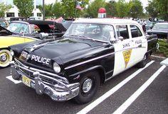 1956 Ford NJ State Police Car