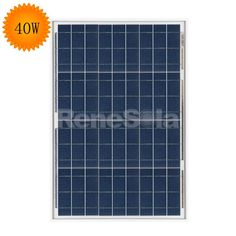 QXPV 40W Polycrystalline Solar Panels,China - ReneSola - Green Energy Products
