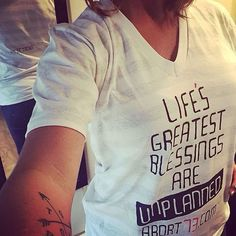 https://flic.kr/p/AfsPKQ | Thanks to @ncf.breedy for sharing this picture of her free #greatestblessings #vneck! #beawitness #wearashirt #postapic #exposeabortion #Abort73