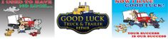 Good Luck Truck and Trailer Repair Service Maintenance, Good Luck, Trucks, Best Of Luck, Truck, Cars