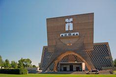 St. John's Abbey Church by Marcel Breuer, Minnesota.