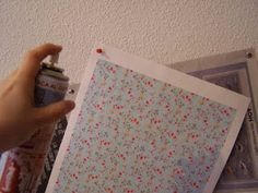 Tips On Wallpapering Doll House Crafts Diy Dollhouse Furniture Barbie Doll House