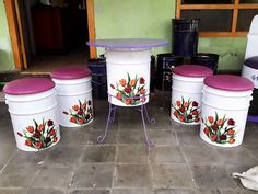 Cool Furniture, Furniture Ideas, Architecture Design, Decoupage, Bbq, Recycling, Concept, Crafts, Food