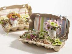 Sehe dir das Foto von Zwergnase mit dem Titel Süße Dekoidee im Eierkarton und andere inspirierende Bilder auf Spaaz.de an.