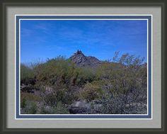 Arizona Valley Framed Print By Stephanie Forrer-harbridge