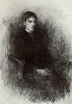 William Butler Yeats (1865-1939) Drawn by his father John Butler Yeats http://www.lissadellhouse.com/wbyeats.html