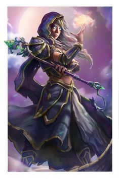 My magic will tear you apart!, Andrew Tran on ArtStation at…