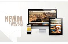 Conception, création et Développement du site de l'Office de Tourisme Nevada