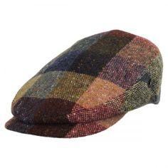 City Sport Caps Donegal Tweed Marl Tweed Patchwork Ivy Cap Ivy Caps de81d84314e