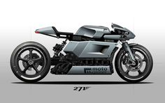 Cafe Racer by 271 Desing #motorcycles #caferacer #motos | caferacerpasion.com