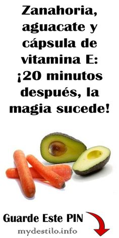 Zanahoria, aguacate y cápsula de vitamina E: minutos después, la magia sucede! Beauty Skin, Health And Beauty, Hair Beauty, Beauty Secrets, Beauty Hacks, Body Treatments, Tips Belleza, Belleza Natural, Nutrition