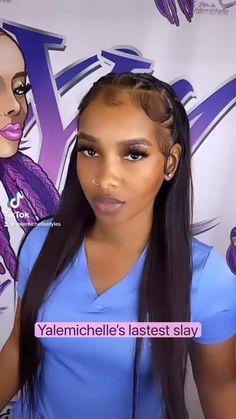 Hair Ponytail Styles, Twist Braid Hairstyles, Baddie Hairstyles, Black Girls Hairstyles, Hair Like Wool, Black Hair Video, Edges Hair, Natural Hair Styles, Long Hair Styles
