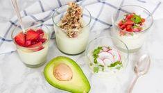 Αβοκάντο με Γιαούρτι – Avocado Yogurt - The Healthy Cook Yogurt, Wordpress, Fat Burning Detox Drinks, 1200 Calories, Bariatric Recipes, Vegetarian Cooking, Meal Planning, Slow Cooker, Panna Cotta