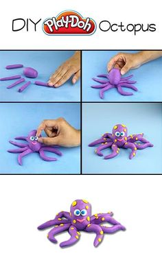 Play-Doh DIY Octopus!