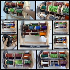 Officially Available Now!! Rotating Paracord Storage Organization System by LiveParacord on Etsy