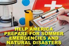 Prepare for Summer Emergencies & Disasters Now!  #emailmarketing