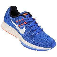 Para las mujeres más exigentes y apasionadas por el running, llegan las Zapatillas Nike Structure 19 Azul e Naranja. Es un calzado diseñado para brindar mayor comodidad al correr y un estilo deportivo muy femenino. | Netshoes