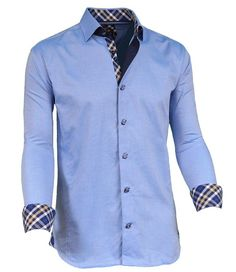 """Like"" this Via Uomo men's shirt? Find it at FashionMenswear.com #mensshirt #menswear #mensfashion"