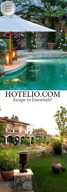 Borgo Santo Pietro || Italy - Tuscany || The hotel has very…